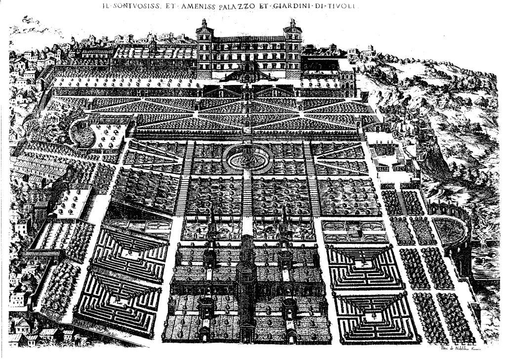 La villa d este tivoli imaginaire du jardin for Jardin villa d este